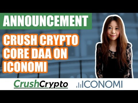 Announcement: Introducing the Crush Crypto Core DAA on ICONOMI
