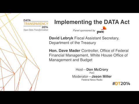 DT2014   Implementing the DATA Act