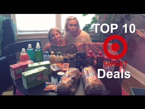 TOP 10 Coupon Deals at TARGET (06/22/15) | Deal Shopping with Collin