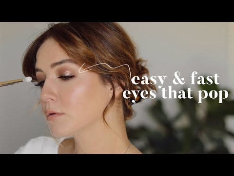 Easy & Fast Technique To Make Your Eyes Pop