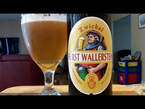 Fürst Wallerstein Zwickel (4.7% ABV) DJs BrewTube Beer Review #570