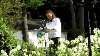 "Li-Young Lee reads ""The Undressing"" at the Sunken Garden Poetry Festival"