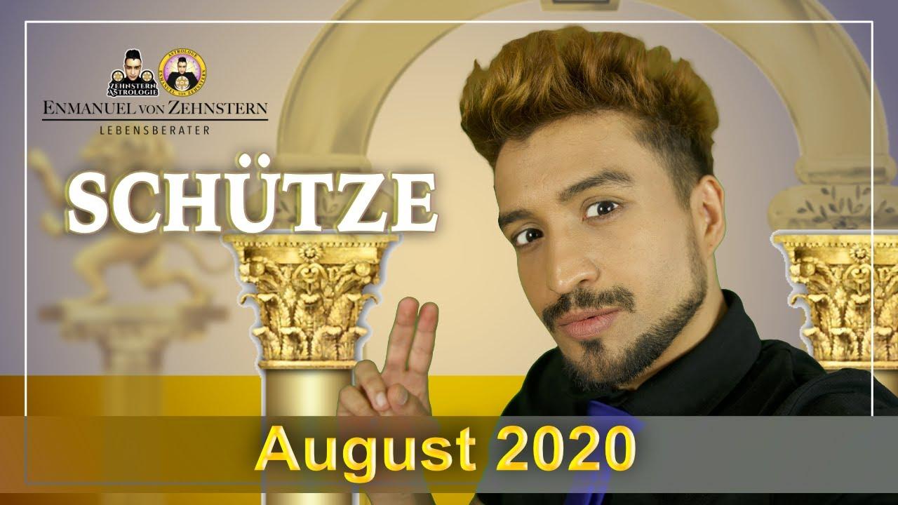 SCHÜTZE | ASZENDENT UND STERNZEICHEN MONATSHOROSKOP AUGUST 2020