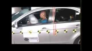 Crash test Mitsubishi Lancer 10 sportback 2009