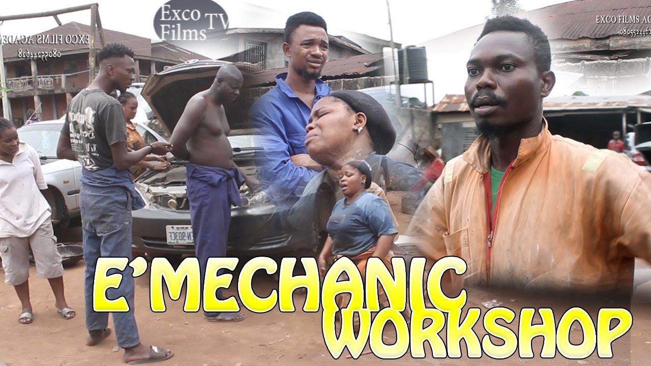 Download E'MECHANIC WORKSHOP [LATEST BENIN COMEDY MOVIE]