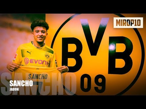 JADON SANCHO ✭ BVB ✭ THE KING OF DRIBBLE ✭ Skills & Goals ✭ 2017 ✭ Mp3