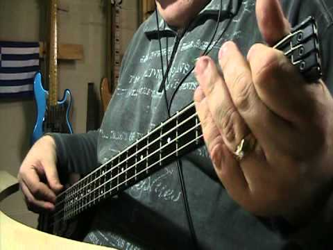 Roy Orbison Only The Lonely (Know The Way I Feel) Bass Cover
