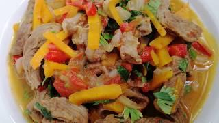 Быстрый ужин, мясо с овощами!
