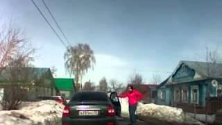Опасная погоня в Саранске