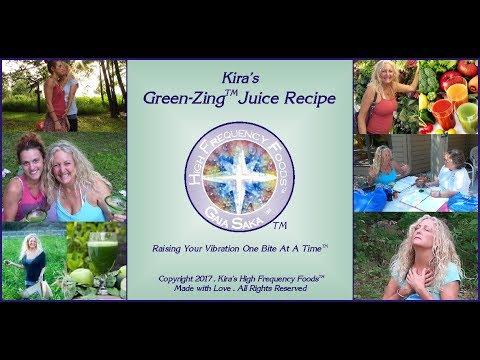 Boost Your Energy Green-Zing Juice Recipe