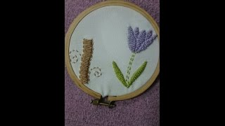 How To Diy Hand Embroidery Stitches - Basket Stitch - Tutorial .