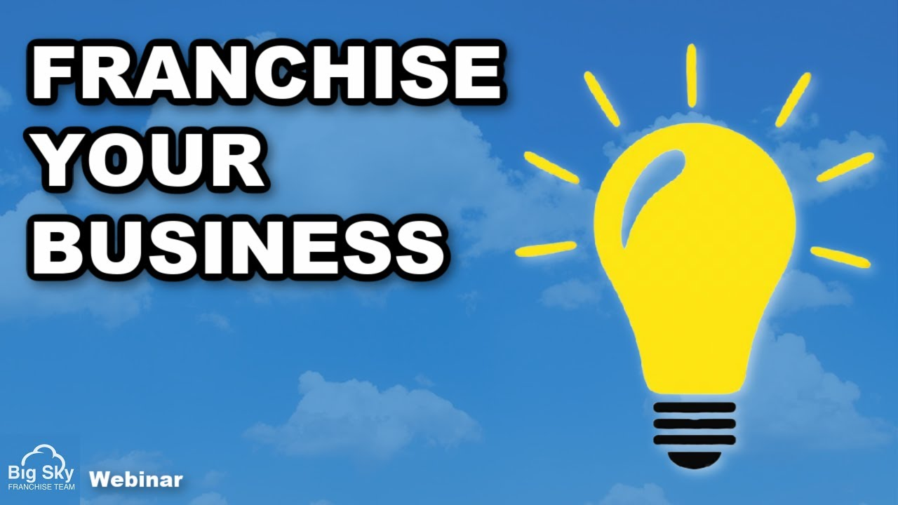 franchise your business cartoon youtube