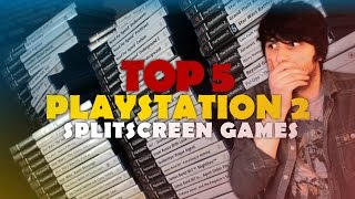 TOP 5 PS2 Splitscreen Games (ft. The Dude)!   PlayStation 2