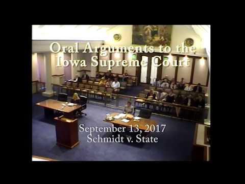 15–1408 Jacob Lee Schmidt v. State of Iowa, September 13, 2017