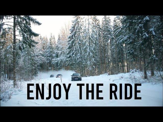 l LASTNIGHTFUN l ENJOY THE RIDE l high speed winter drifting & crashes