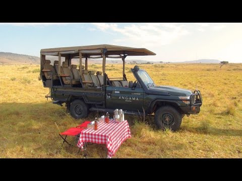 Breakfast on the Masai Mara during an Angama Mara...