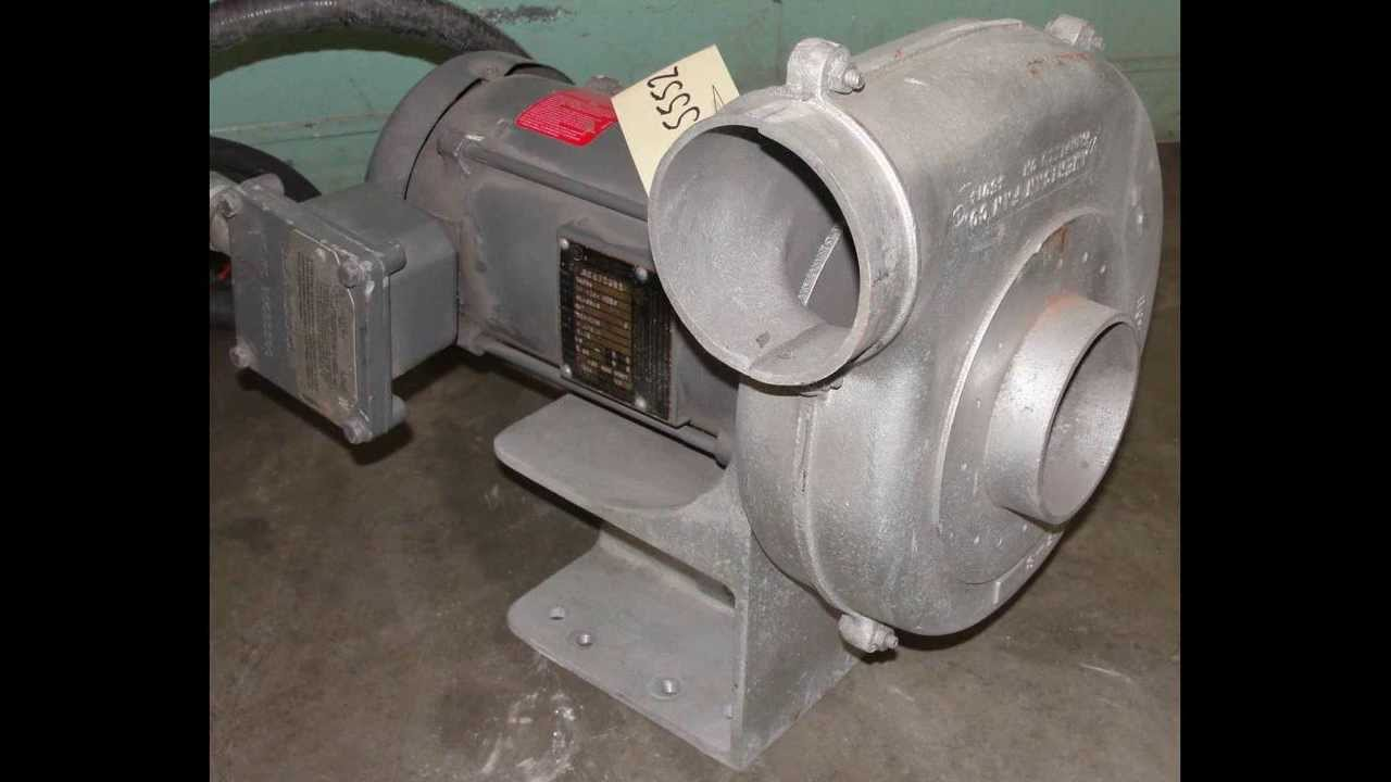 American Fan Company 1/3 hp centrifugal blower  Size AF-8