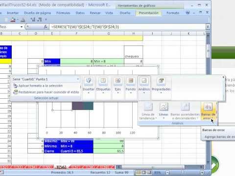 Excel Facil Truco #56: Diagrama de Caja y Bigotes