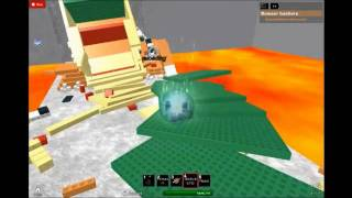 Killing Bowser on Roblox