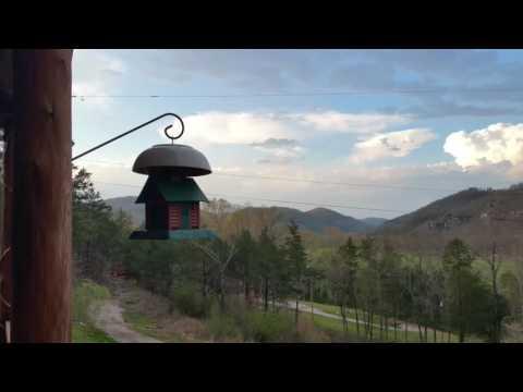 Symphony in springtime skies Ozarks Mountain View Arkansas Eve Starr Fiber Arts