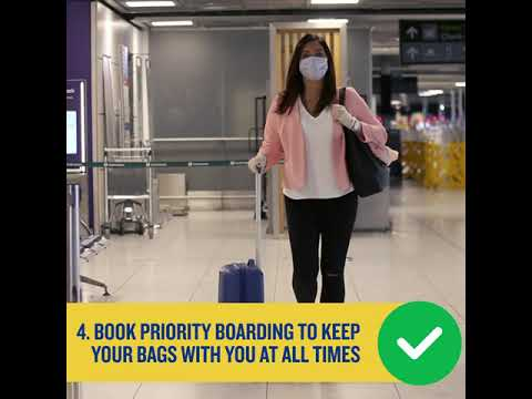 10 steps you can take for healthy flying
