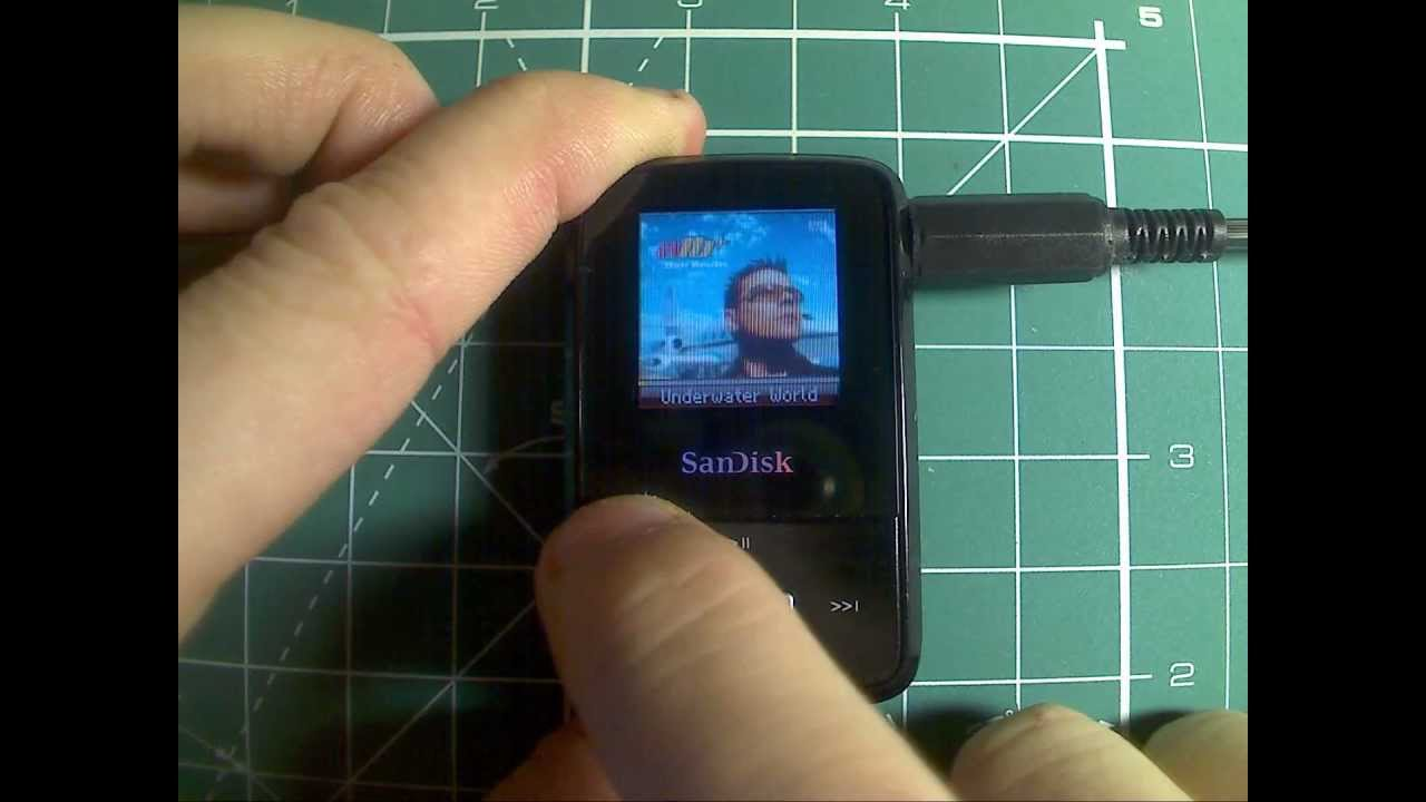 SanDisk Sansa Clip Zip + RockBox