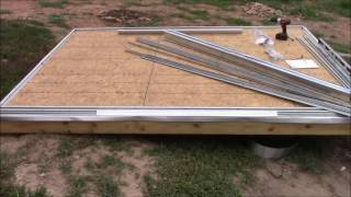 how to build a shed on posts part 3 simplelife diy