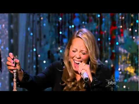 Mariah Carey - Oh Holy Night (Live ABC Christmas Special 2010 ...
