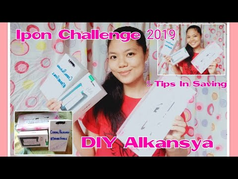 DIY Alkansya: Ipon Challenge 2019 (50,100, #TravelGoals) + 5 Saving Tips For H.S. & College Students