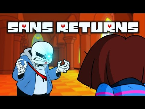 AFTER BEING DEFEATED... SANS RETURNS!! | Undertale Fan Game