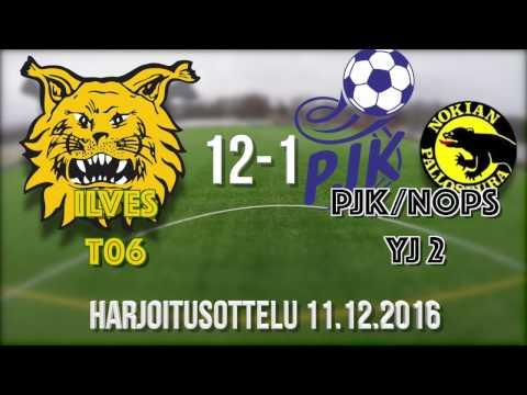 2016 12 11 Ilves P03 Keltainen vs PJK NoPS YJ 12-1 Harjoitusottelu