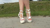 5bb1acbb8ce4 Footcandy Shoes Tory Burch Emmy Wedge - YouTube