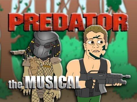 ♪ PREDATOR THE MUSICAL - Animated Parody