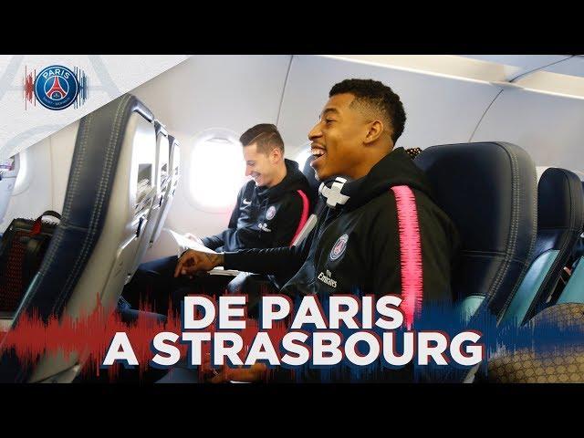 De Paris à Strasbourg with Kylian Mbappé, Presnel Kimpembe & Julian Draxler