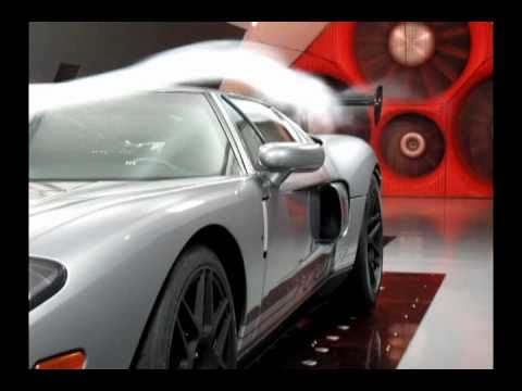 Ford Gt In The A Wind Tunnel