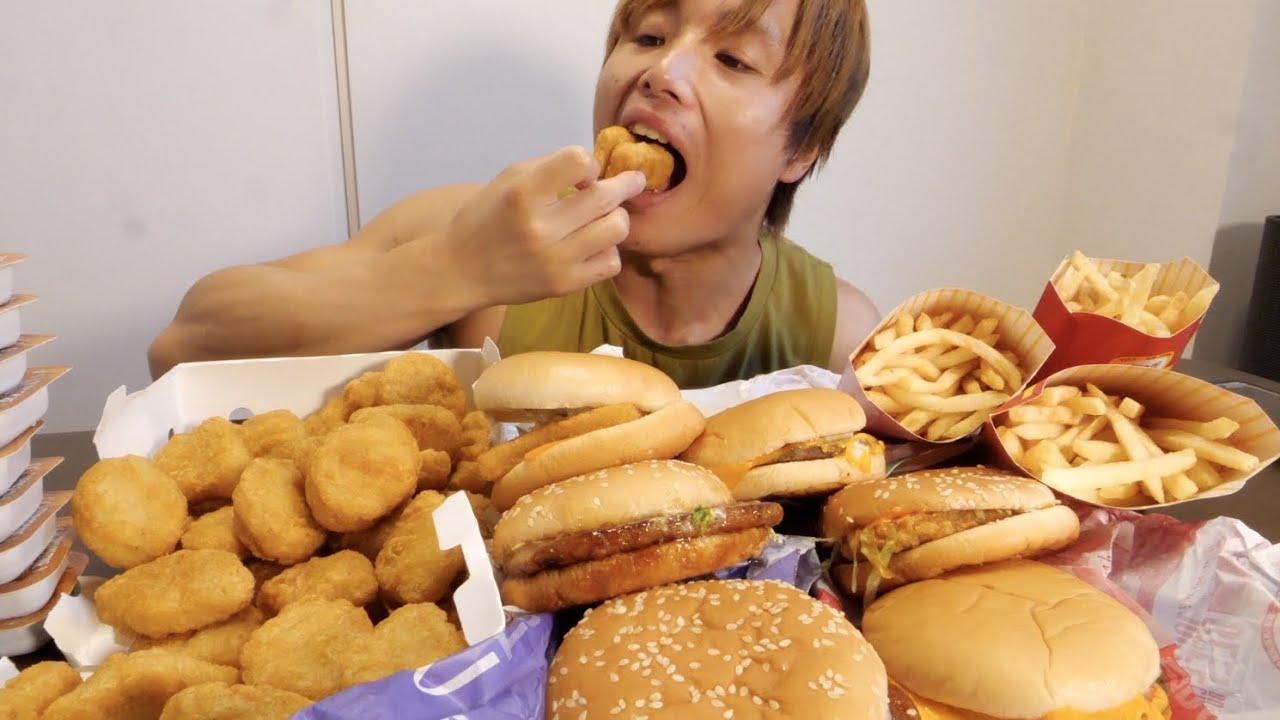 制限時間1時間でマックひたすら食い続けたら何キロ太るのか本気でやったら衝撃体重にらなった