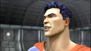 justice league playstation 2 game movie all cutscenes