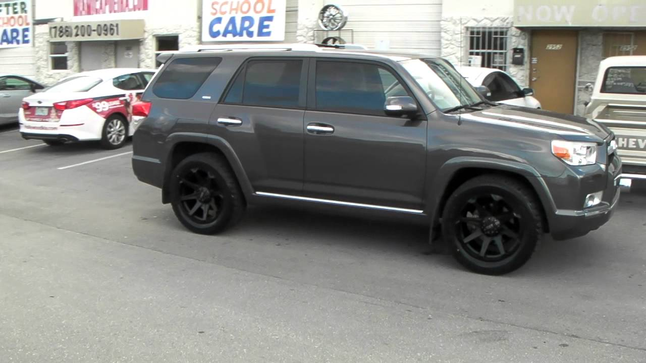 2011 Toyota 4Runner Limited For Sale >> 877-544-8473 20 Inch Tuff T05 Wheels 2013 Toyota 4 Runner Rims & Tires Free Shipping - YouTube