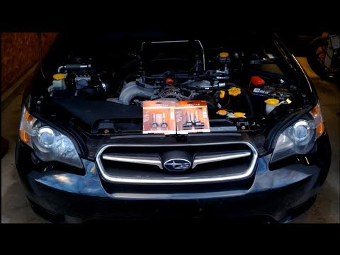 How To Replace Upgrade Your High Low Headlight Bulbs In Newer Subaru Legacy