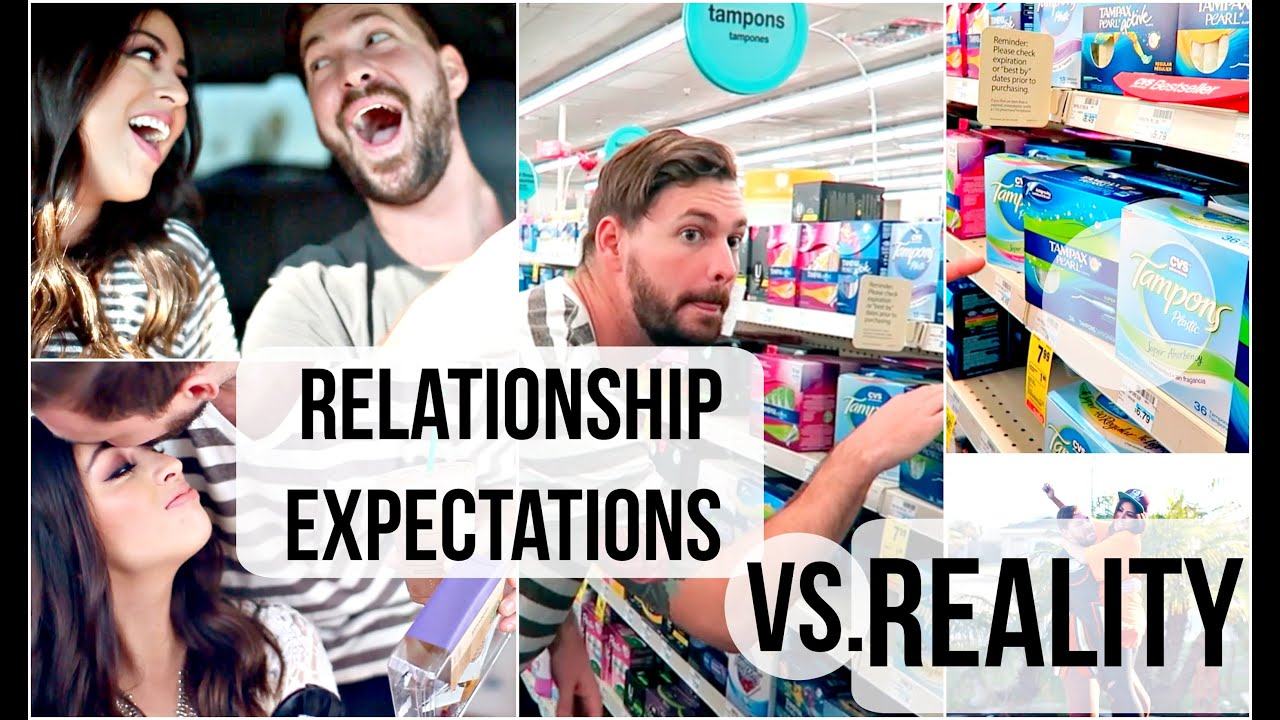 unrealistic relationship expectations vs reality