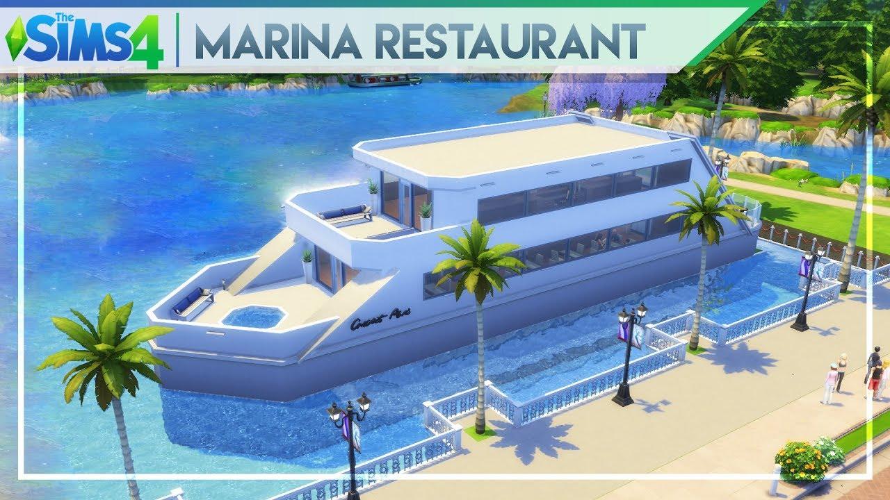 MARINA RESTAURANT & BAR | The Sims 4 Community Lot Building