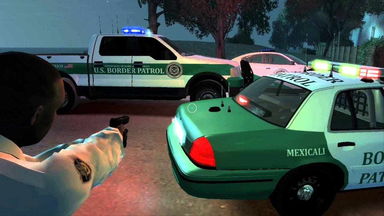 U S Border Patrol Car Pack Showcase Gta Iv Youtube