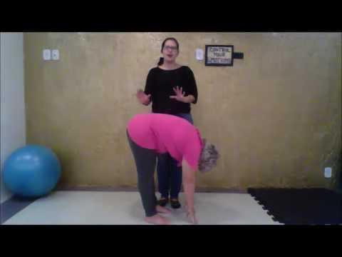 Avaliando a escoliose parte 3 - Teste de flexibilidade