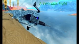 Roblox Dinosaur Simulator - A Very Epic Fight Or Something