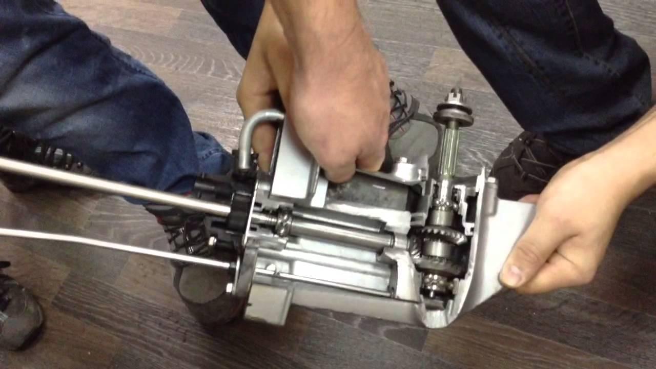 Правка гребных валов лодочных моторов