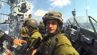 חיל הים במבצע צוק איתן