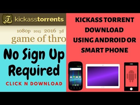 Kickass Movie Download Fast And Free | Download From Kickass Torrent By Android | Kickass Proxy