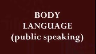 memantapkan body language bahasa tubuh dalam public speaking
