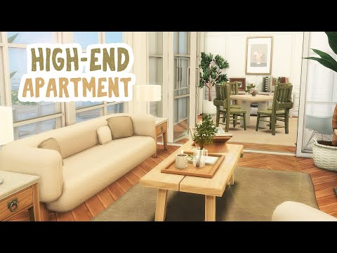 HighEnd Apartment || The Sims 4 Apartment Renovation: Speed Build