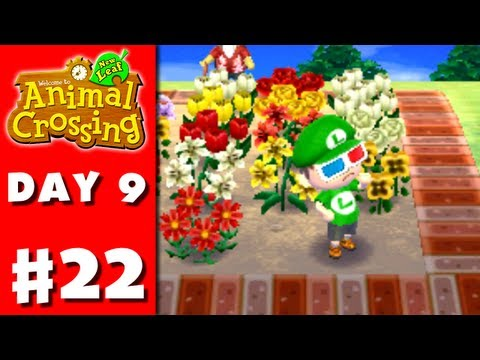 Animal Crossing: New Leaf - Part 22 - Island Easy Tours (Nintendo 3DS Gameplay Walkthrough Day 9)